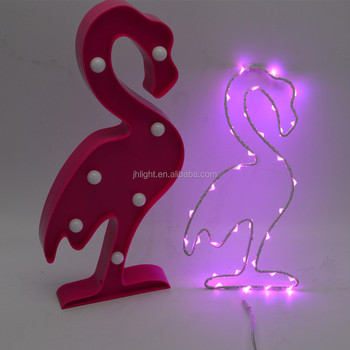 Tropical Pink Flamingo Led Birthday Party Decoration For Valentina Gift Kids Room Decorations Flamingos
