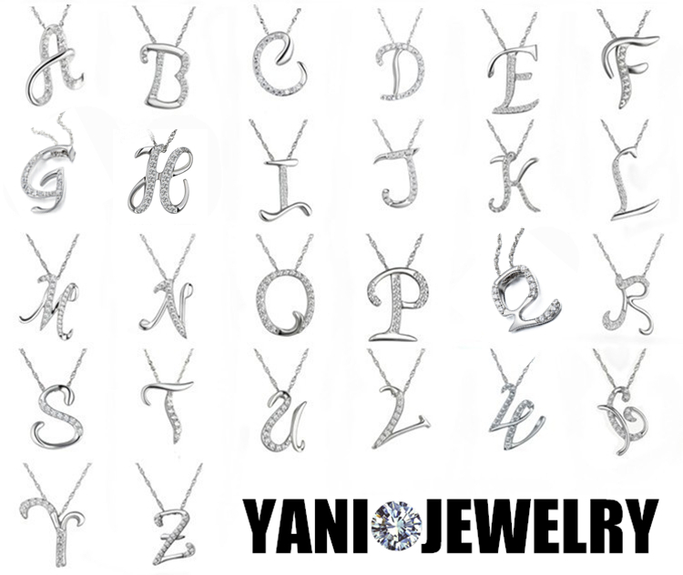 Aliexpress Com Buy Home Utility Gift Birthday Gift Girlfriend Gifts Diy From Reliable Gift Diy: Aliexpress.com : Buy Fashion Jewelry 26 Letters Necklace