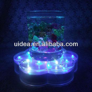 Led Light Base For Vases 6 Inch Color Changing Led Centerpiece Base