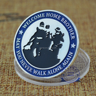 Welcome Home Brother Coin, USA Air Force High quality metal souvenir custom silver plated metal coin