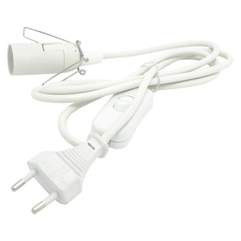 EU 2pin power cord with switch