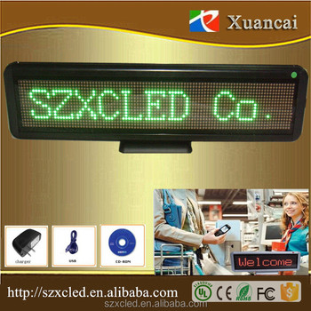 C1696G(423X110X21MM) Manufacturers selling multilingual USB interface desktop display screen, banner ads, indoor LED