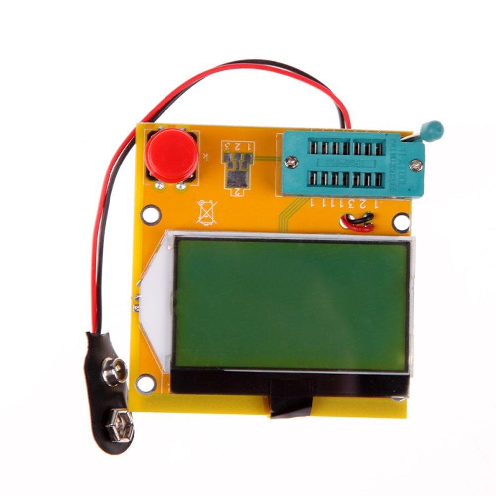 Cheap Capacitor Tester Find Deals On Line At Good Bad Transistor Get Quotations Alloet New Digital Esr Inductance Resistor Meter Npn Pnp