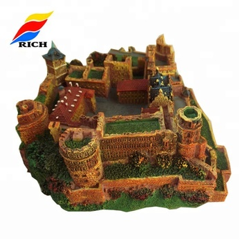 Architectural Models Of Famous Building Resin Tiny 3d Building House,3d Miniature Building Model Of Houses