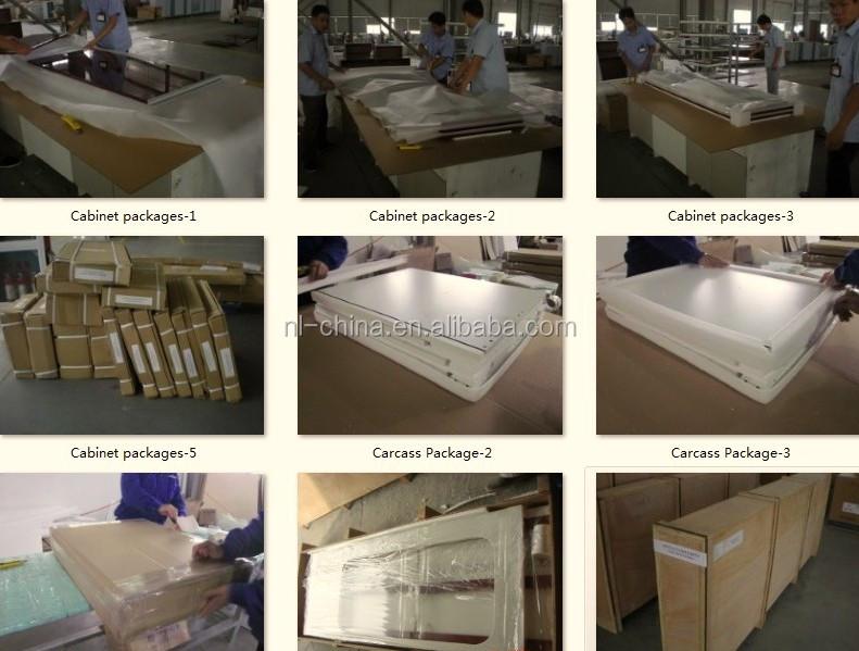 Prefab High Gloss Vinyl Wrap Doors Cheap India Kitchen Cabinet Part 61