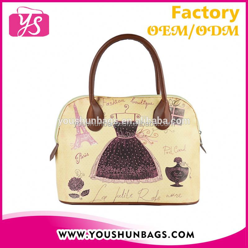 Loveliness Ladys PU Leather Handbag lb with Classic Shell Shaped Design
