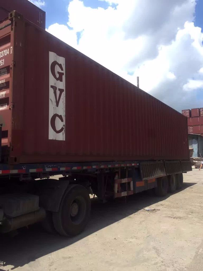 Shanghai port 20ft 40ft 40HC used container for sale