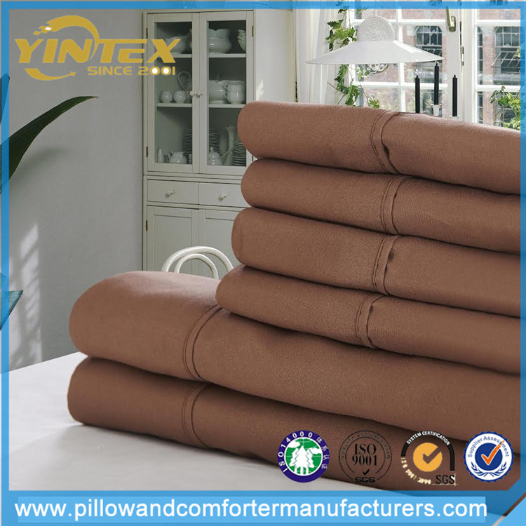microfiber fabric bed sheet, stock lot bed sheet