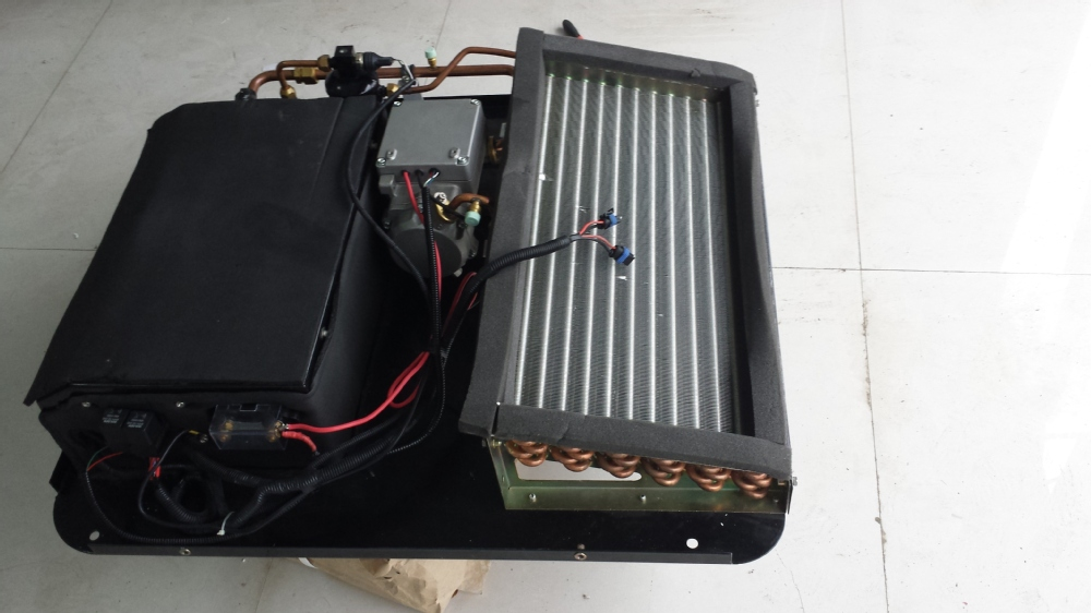 12v 24v Dc Powered Electric Caravan Air Conditioner For