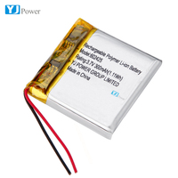 602425 300mAh 3.7v rechargeable lithium ion c batteries lithium battery components