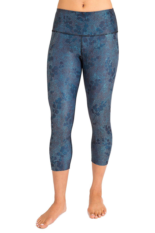 Inner Fire Snowberry Capri Yoga Pants