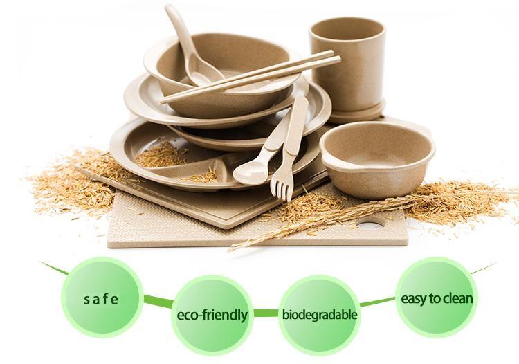 Eco organic rice husk biodegradable baby dinner plate tableware  sc 1 st  Alibaba & Eco Organic Rice Husk Biodegradable Baby Dinner Plate Tableware ...