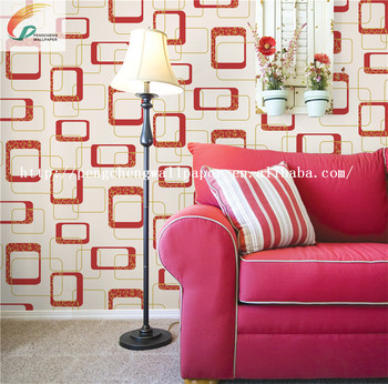 New Arrival Beautiful Design PVC Wallpapers Wall Paper For Home Decoration