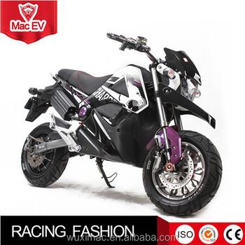 Custom Longest Range Electric Motorcycle