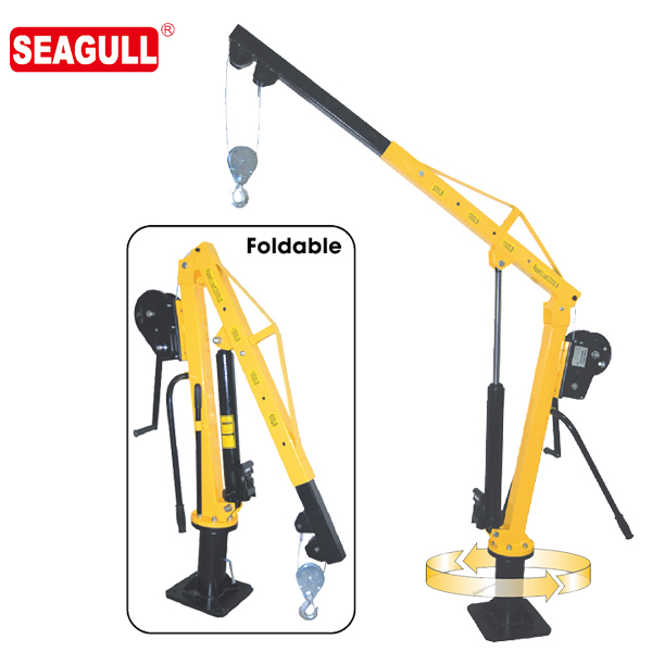 HW1000 1 ton capacity small industrial crane jib wholesale price