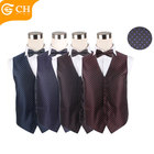 Cheap Salubrious Fashion Design Polyester Vest Men Suit for Custom