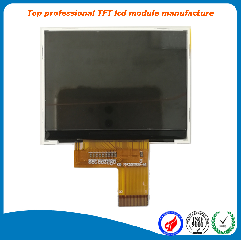 factory direct supply colour 320x240 lcd display 2.3 inch with mcu 8080 parallel interface with CTP