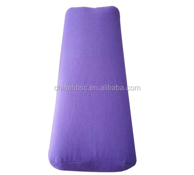 Hot bán Thân Thiện Với Môi bông hình chữ nhật rỗng yoga tăng cường gối
