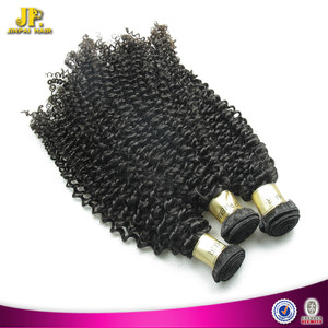 JP Hair Machine Made Weft Kinky Curly Indian Hair Remi