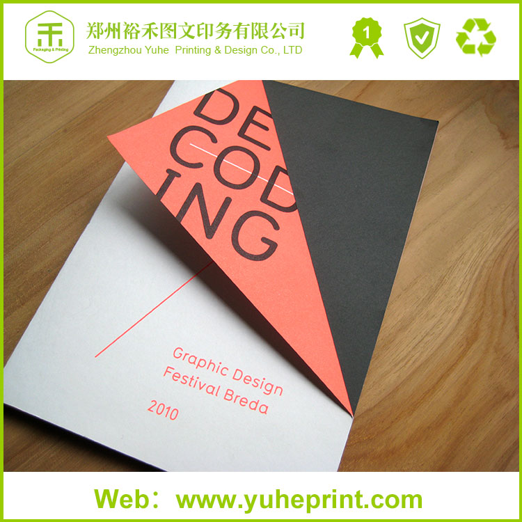 Henen exporter experienced glue binding spot UV process company commercial instruction book