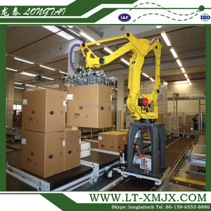 Competitive price Industrial Robotic Palletizer for box packing machine