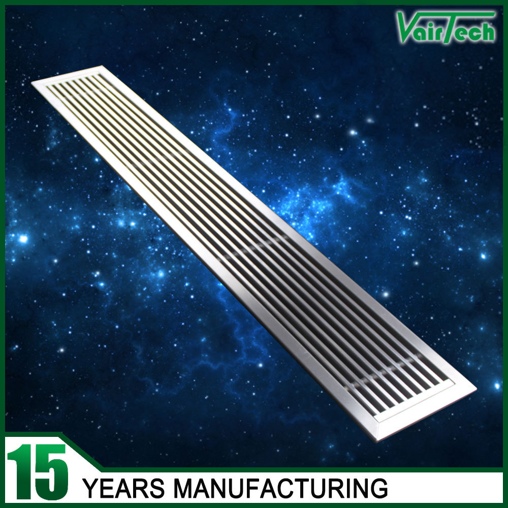 Stainless Steel Air Grille : Rectangular ceiling air conditioning stainless steel