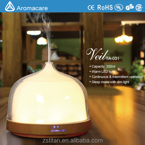 Daily Need Items Wood Grain Room Humidifier Difusers for Essential Oils