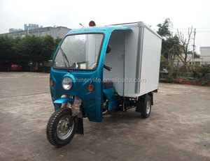 China Factory Price 1.8 Meter Length Container 175cc Air Cool Engine Cargo Tricycle on Sale