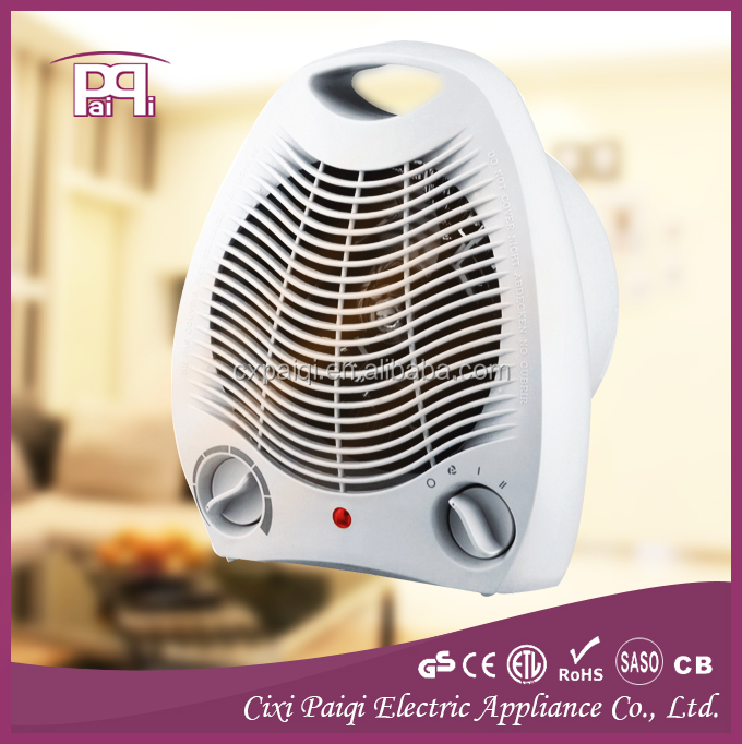Electric fan heater 2000W, with Tip-over switch portable fan heater