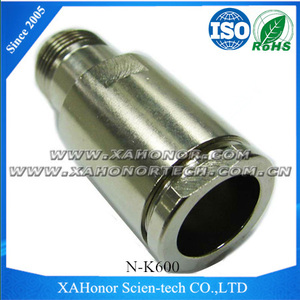 Shaanxi Xi'an XAHonor's Female Brass Body nickel plated With PTFE N Type Connector For LMR600