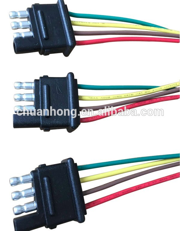 Awesome 4 Pin Way Trailer Light Wiring Harness Extension 4 Pin 18 Awg Flat Wiring 101 Archstreekradiomeanderfmnl
