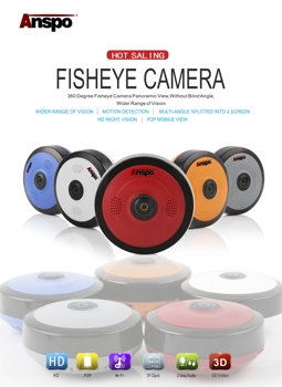 wifi fisher eye cameras
