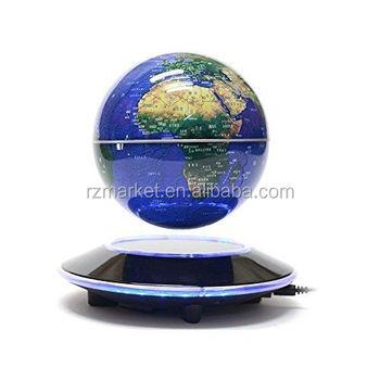 Rzm Mmagnetic Levitatie Globe Verlichting Ufo Base (6 \