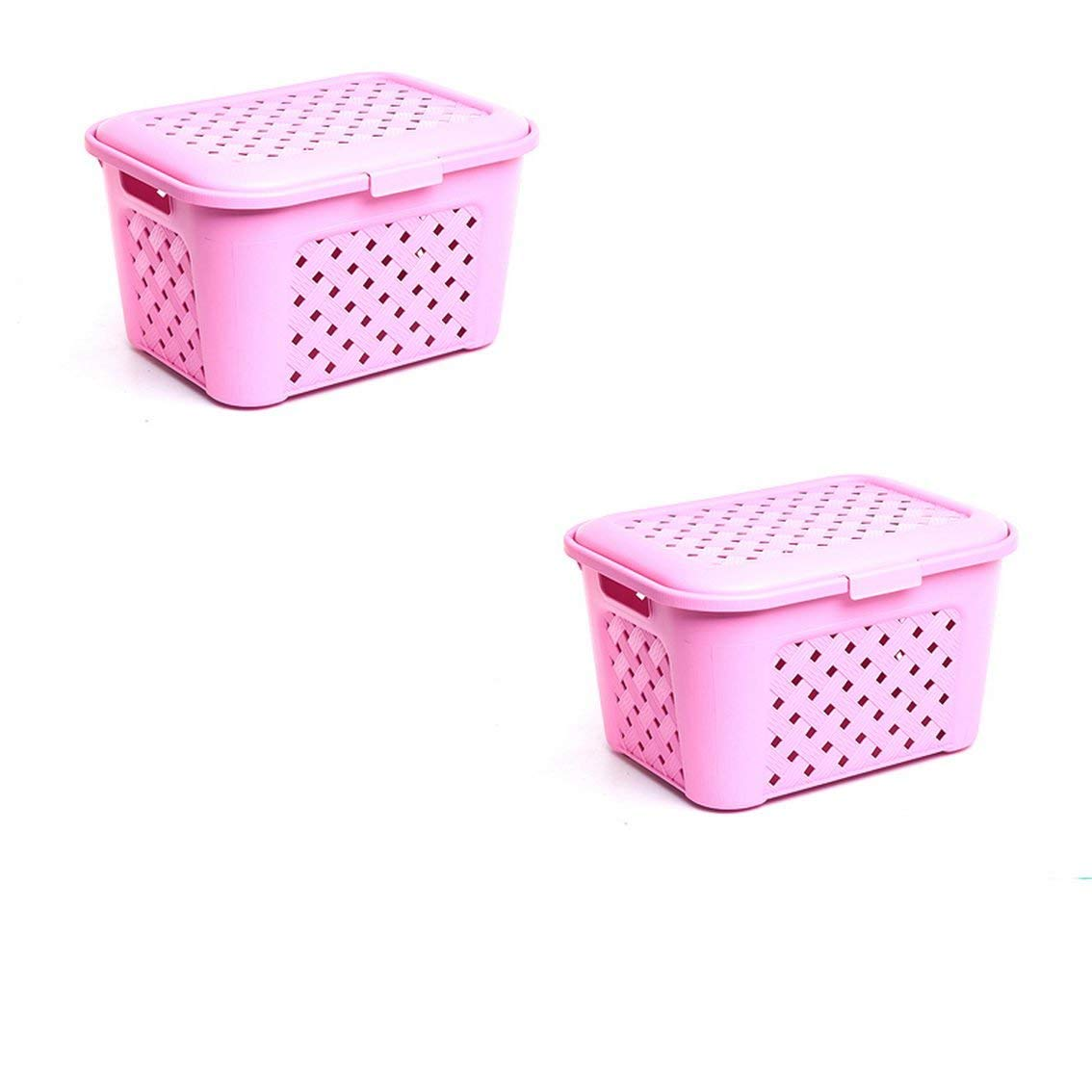 jii2030shann Covered plastic box clothing clothes box storage box storage compartment storage box under the bed rattan basket storage box finishing box storage box storage b