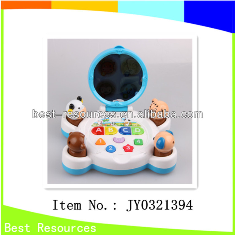 2013 new & hotsale functional baby toy with music and light