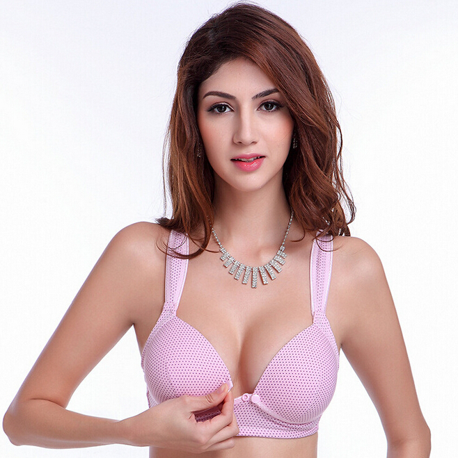 8b94f807092e6 Get Quotations · 2015 New Nursing Bra Sexy Comfortable High Quality Cotton  Maternity Bra 3 4 Cup Back