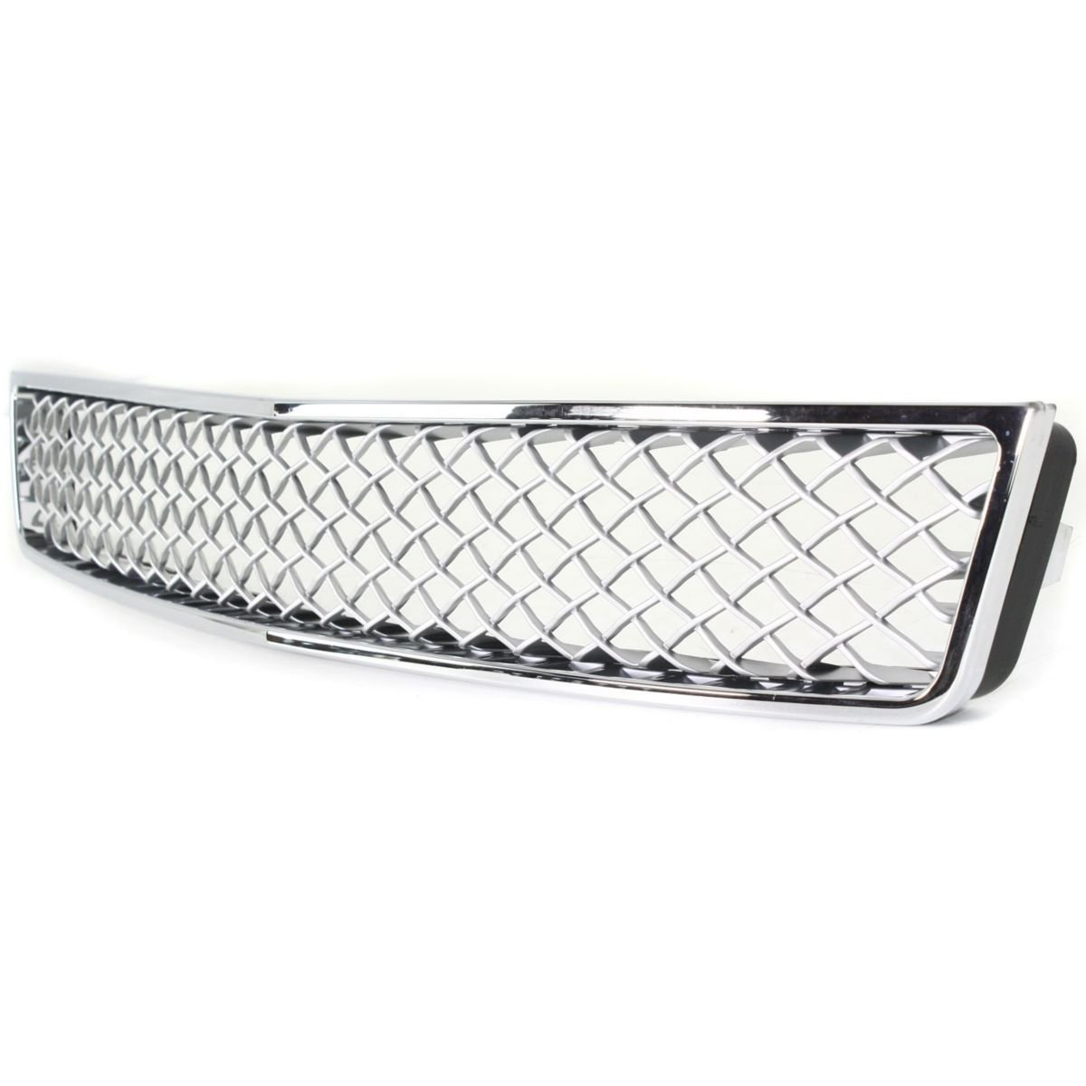 Diften 102-A1609-X01 - New Grille Assembly Grill Chrome shell dark gray insert Tahoe GM1200591 15946154