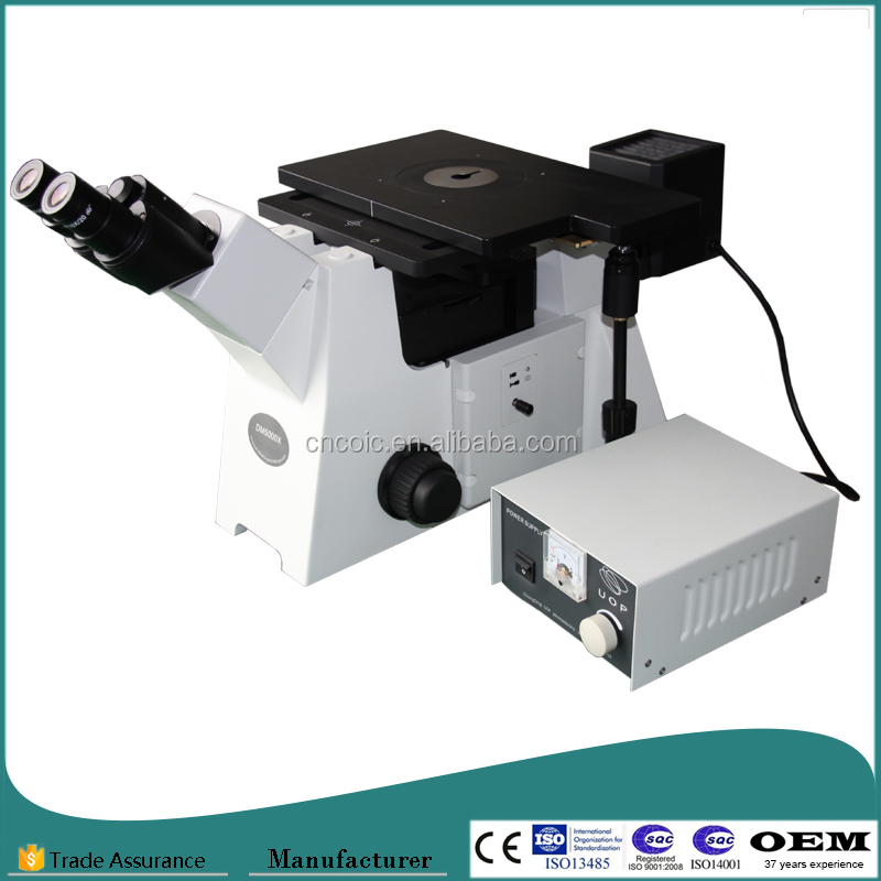 DM5000X Inverted Metallurgical Microscope with High Quality Metallurgical Objectives