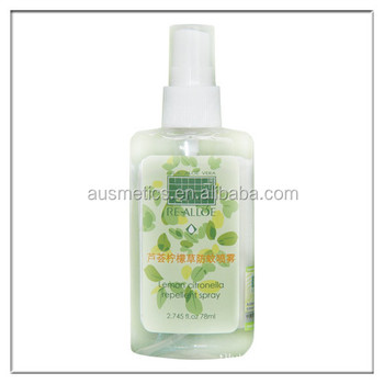 Aloe vera lemon grass Mosquito Repellent Spray