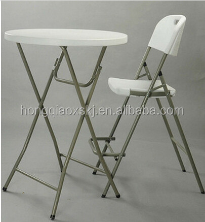 80cm 110height plastic banquet <strong>bar</strong> hotel folding table,cocktail tables,<strong>bar</strong> table