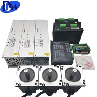nema 34 3axis 1666 Oz-in cnc kits stepper motor
