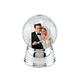 Custom Couple Snow Globe for Home Decor Wedding Gift