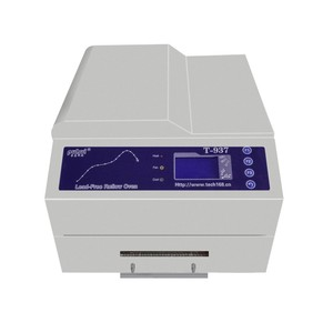 The King of mini lead-free reflow oven wave soldering machine can connect pc
