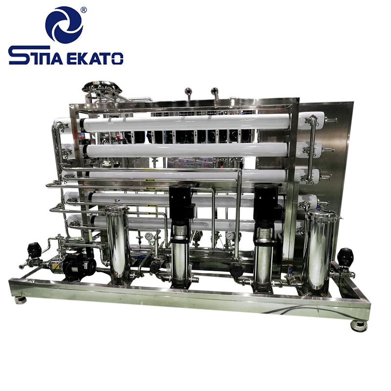Full stainless steel RO water plant two stage reverse osmosis system water treatment