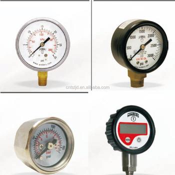 Winters Pressure Measuring Instruments Bourdon Tube Pressure ...