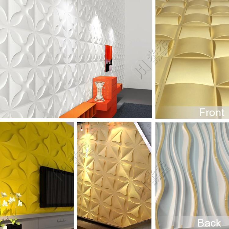 2016 화이트 컬러 벽돌 디자인 tv 배경 벽 디자인 3D 패널 판매-벽지 ...