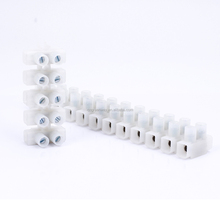 free samples H type plastic screw 3A 5A 10A 15A 20A 24A terminal block PA66 terminal strip