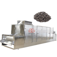 Automatic Belt Type Pepper Seed Roasting Machine/Peanut/Sesame/Sunflower Seed