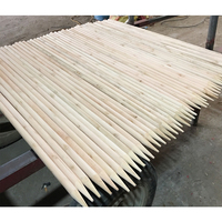 Wholesale 180x2.5cm wooden broom handle stick tip tent pole for children playing