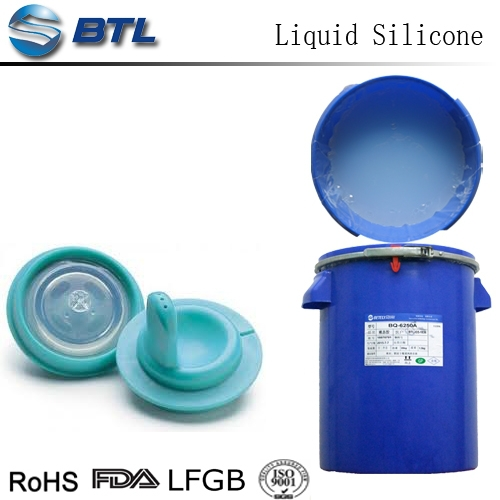 HTV food grade price of liquid silicone rubber for baby nipple
